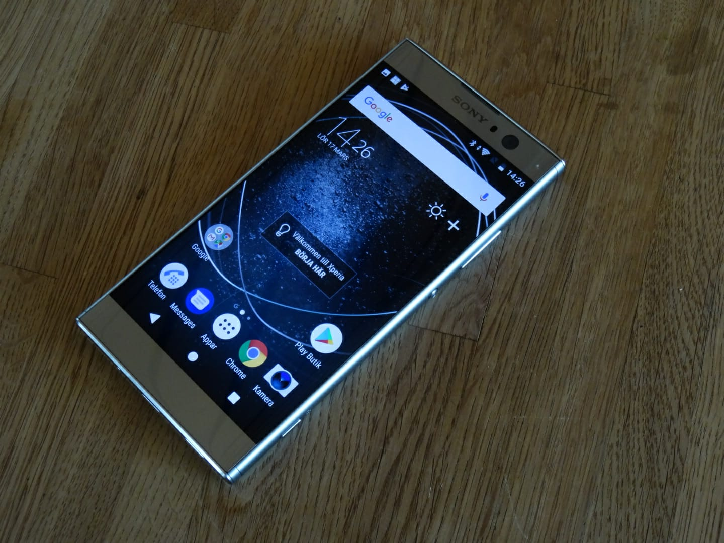 Quick test on Xperia XA2 - Oh so Sony succeeded!