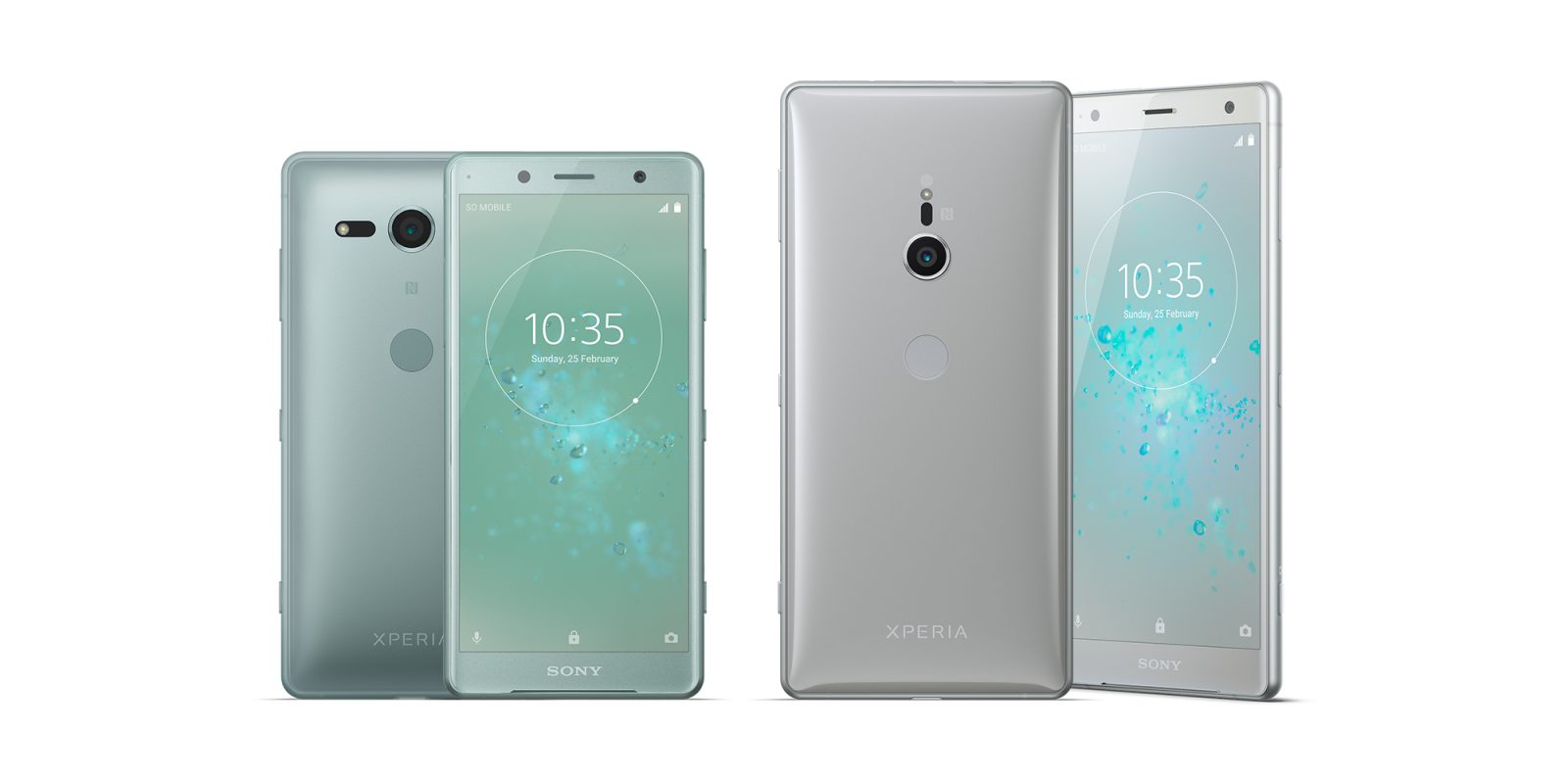 Test: Xperia XZ2 and XZ2 Compact