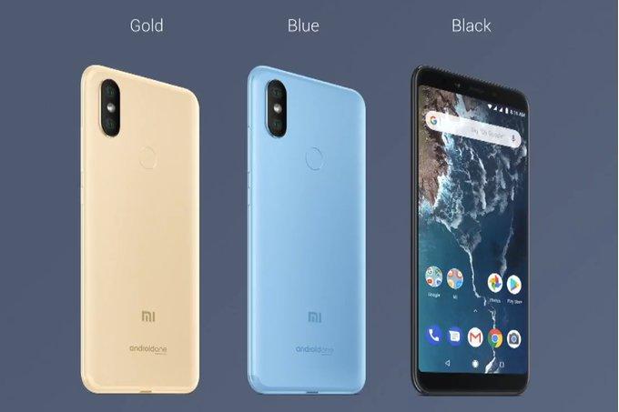 Här är Xiaomi Mi A2 och A2 Lite
