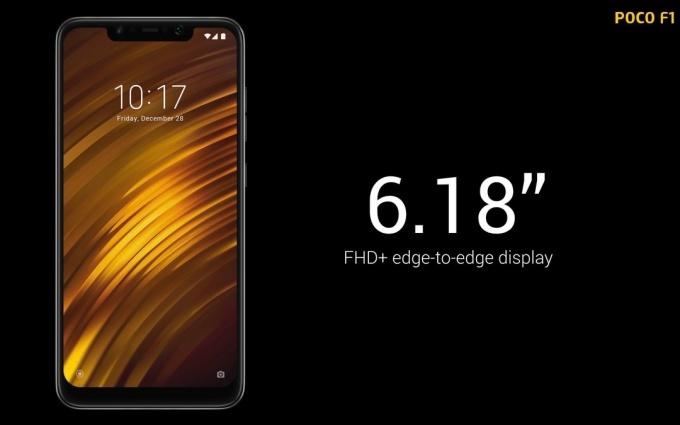 Xiaomi presenterar PocoPhone F1 med Snapdragon 845- kostar från 300 dollar!