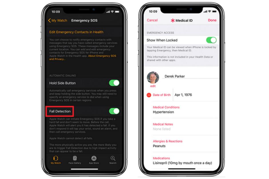 Apple Watch Series 4: funktionen för fall behöver aktiveras manuellt om du är under 65