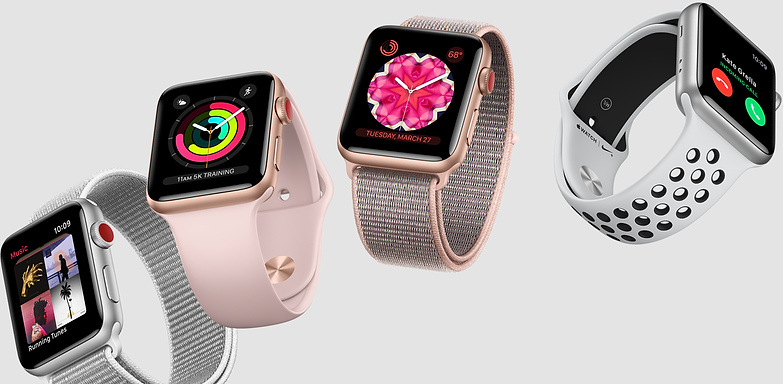 Apple Watch Series 4 dyker upp i det vilda
