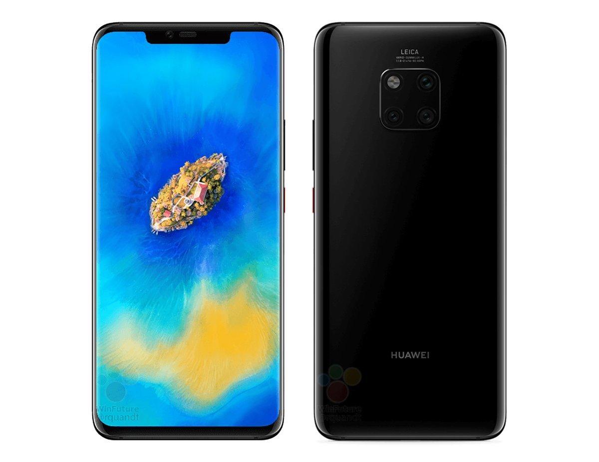 Huawei kommer om tio dagar hålla ett event där man kommer presenterade de  nya mobilerna Mate 20 och Mate 20 Pro. Nu har ett fodral till Mate 20 Pro  läckt ut ... 556429cb158a0