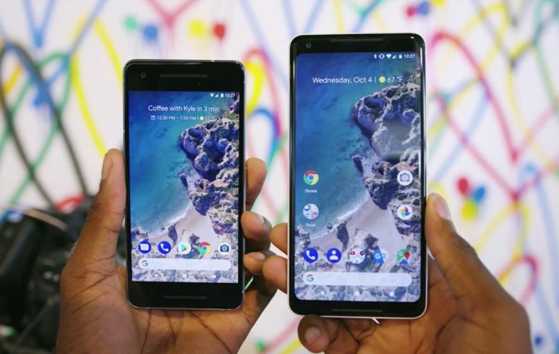 Pixel 2-mobilerna har problem med den automatiska ljusstyrkan