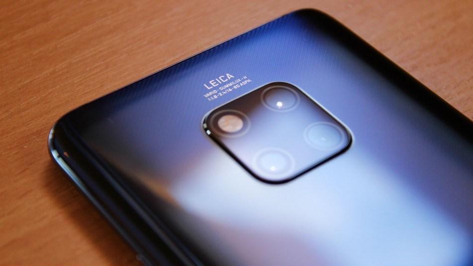 Det märks att Huawei tar avstånd från amerikanska företag