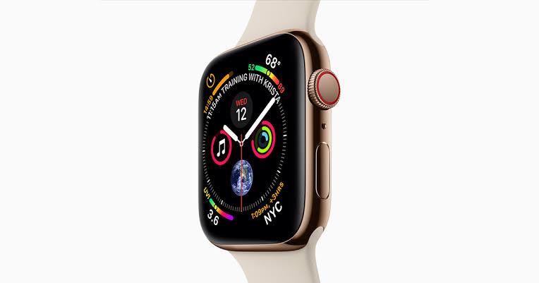 Apple Watch 4 visas upp  i fyra nya videos