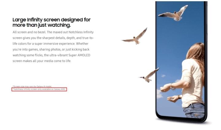 Samsung Galaxy A90 kommer inte få någon flärp