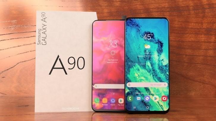 Samsung Galaxy A90 får en 6,73 tumsskärm