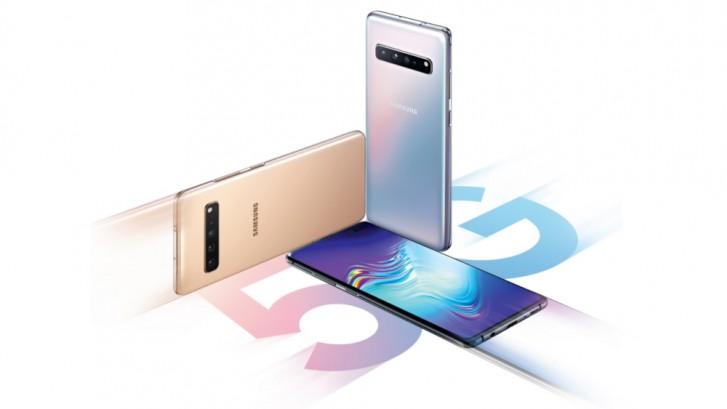 Samsung Galaxy S10 5G har problem med 5G