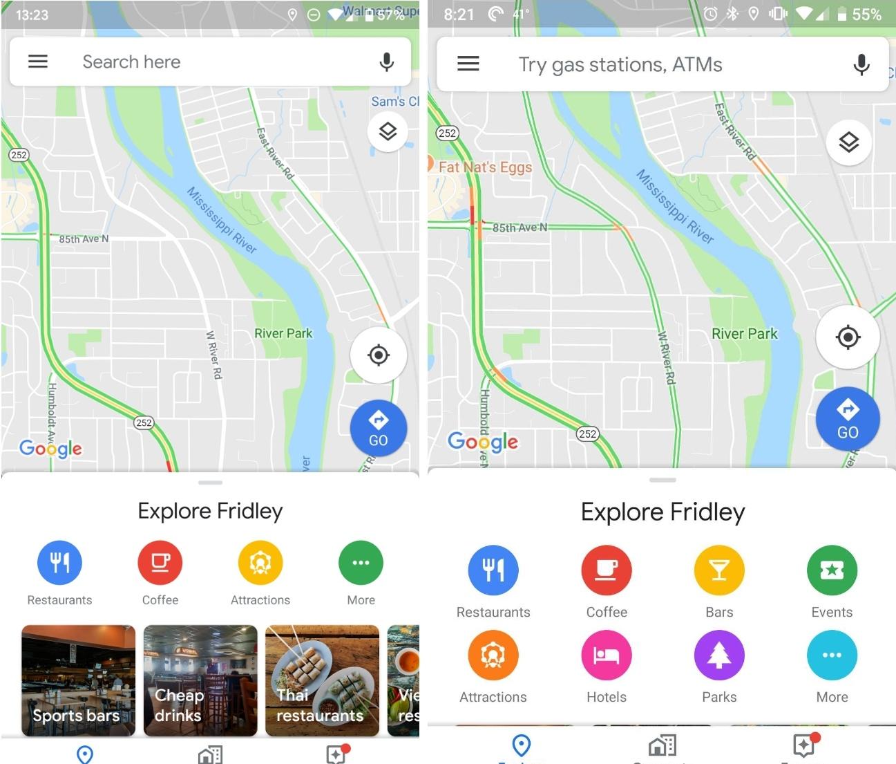 Google Maps kommer förbättras i framtida uppdatering