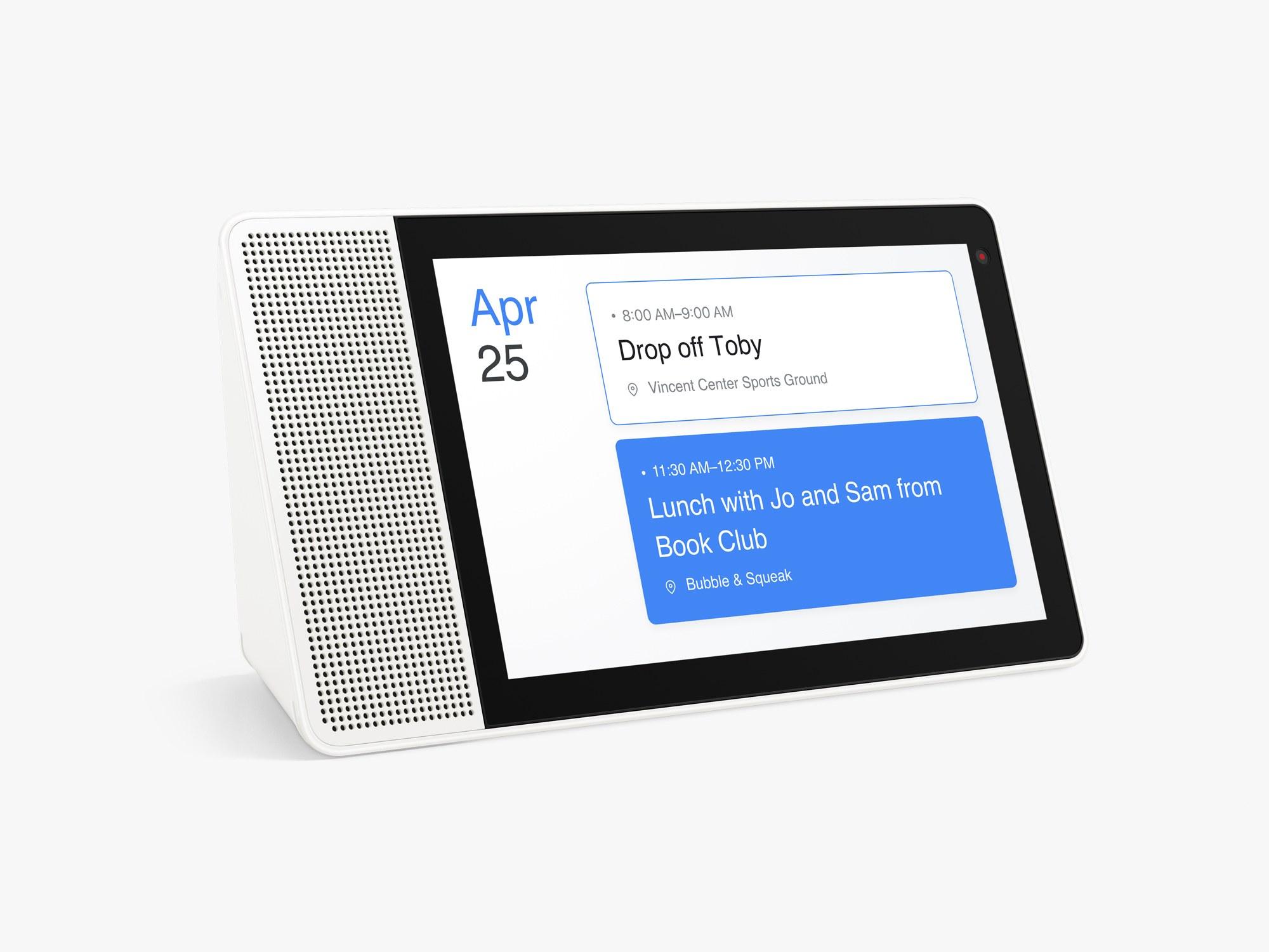 Lenovo Smart Display till Sverige