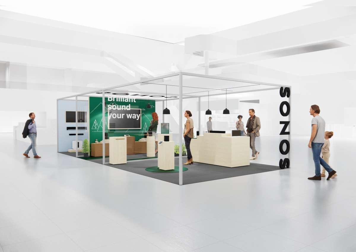 Sonos öppnar pop up i Mall Of Scandinavia