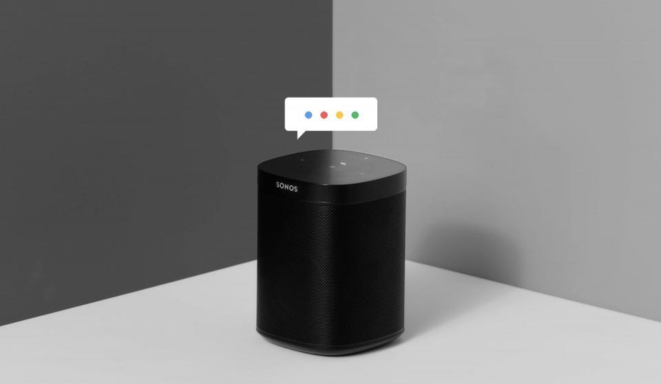 Google Assistent nu till Sonos