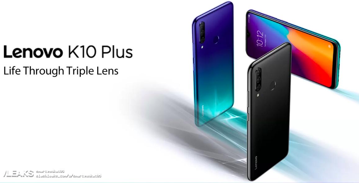 Lenovo K10 Plus får sina specifikationer avslöjade