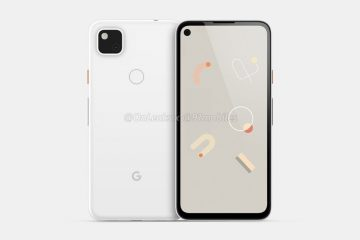 These colors, Google Pixel 4a looks to be available in