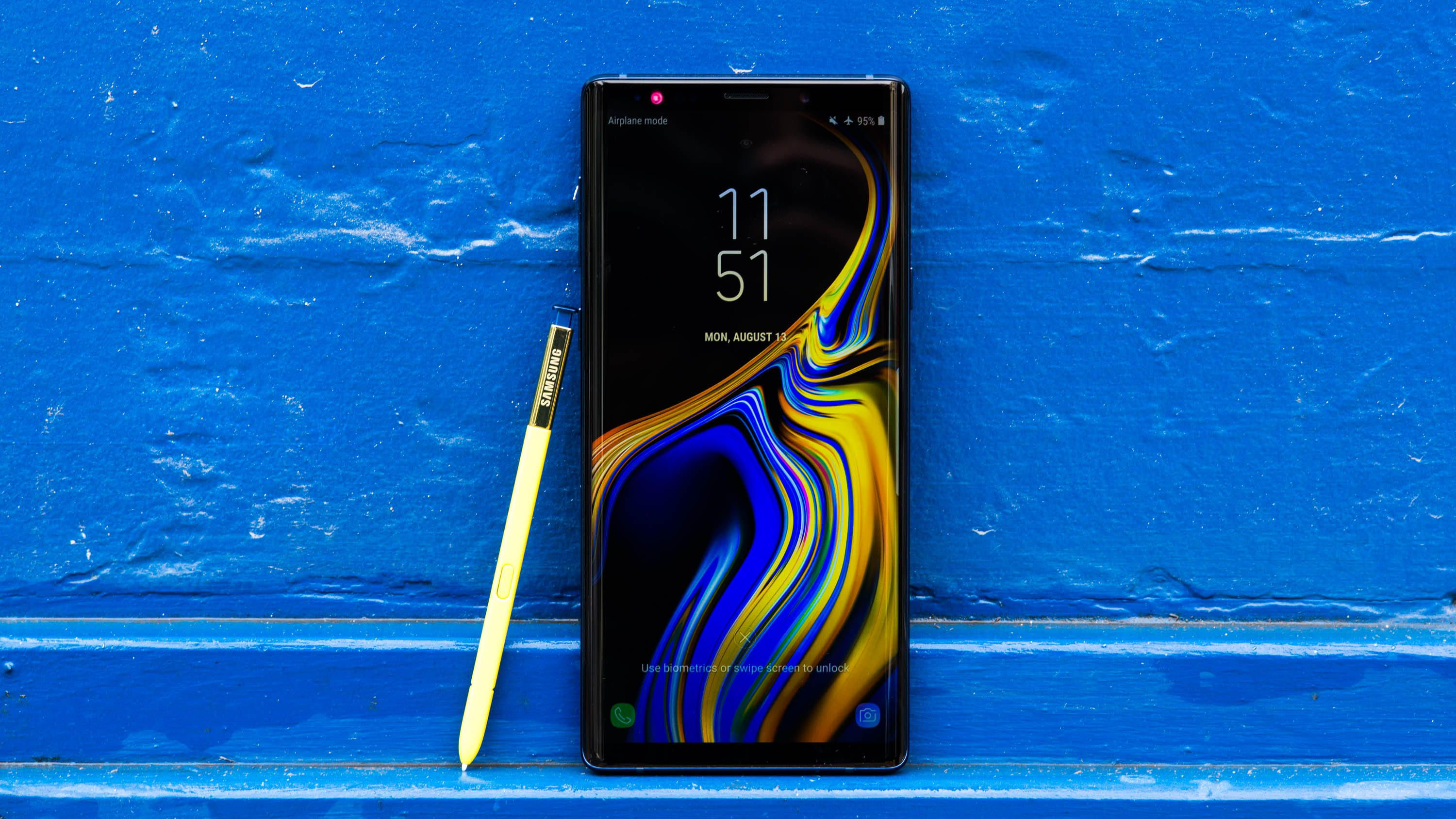Samsung Galaxy Note 9 series gets a new update