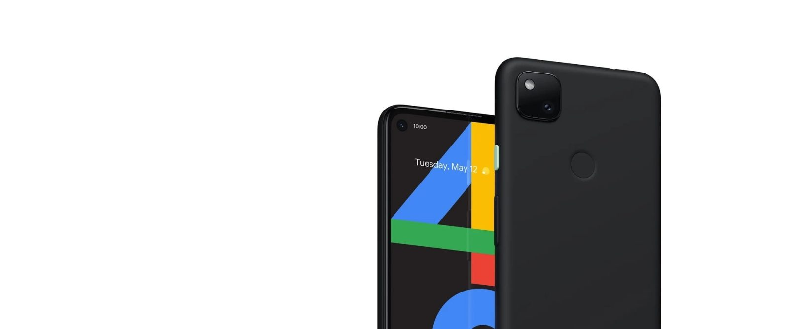 Press image on Google Pixel 4a appears on Google's website