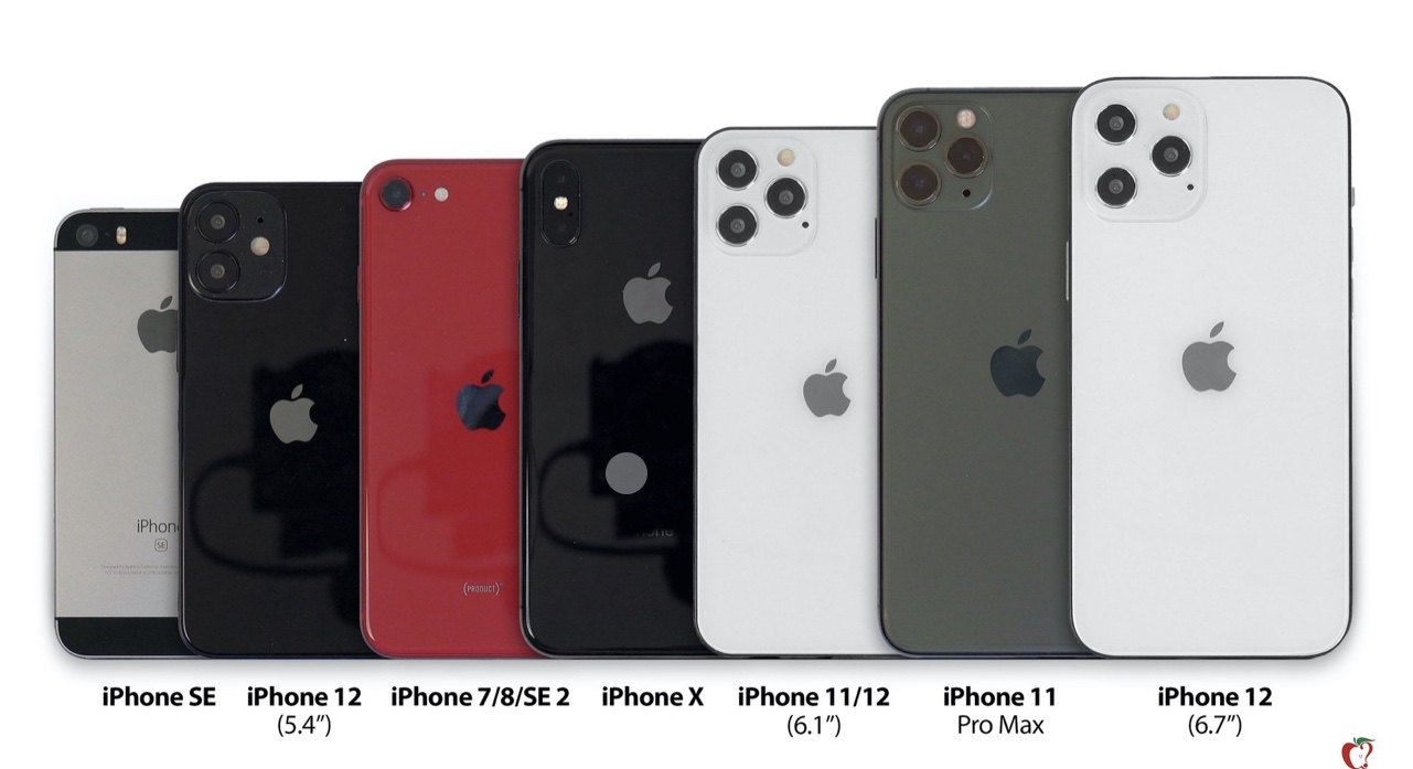 The smallest in the iPhone 12 series is said to be smaller than this year's SE