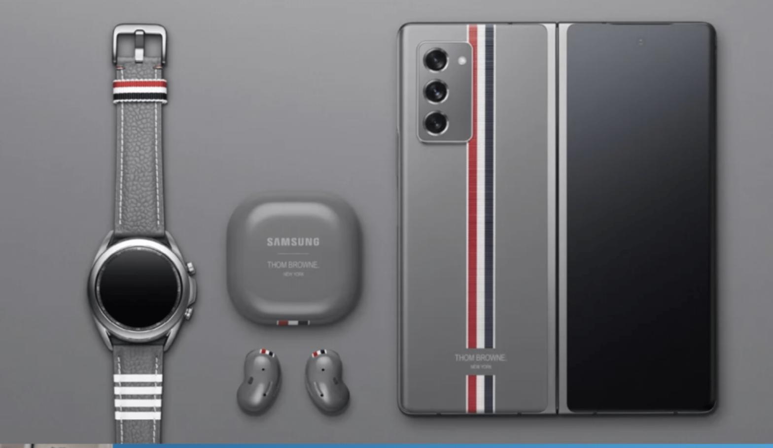 En unboxing på Samsung Galaxy Z Fold 2 Thom Browne Edition