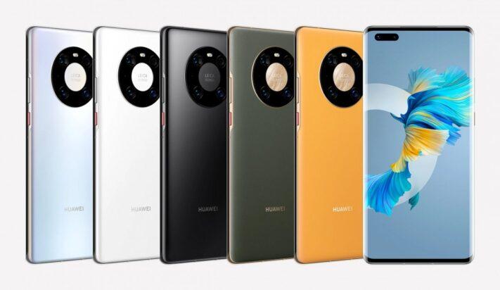 Huawei Mate 40- serien får ny uppdatering med okända nyheter