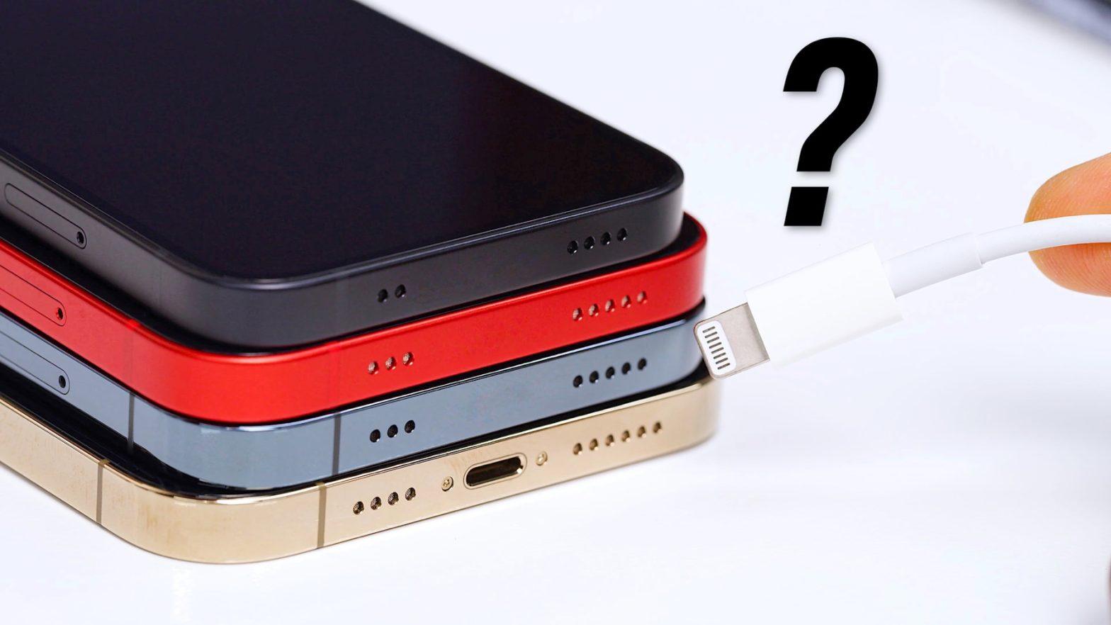 MKBHD pratar om portlös iPhone