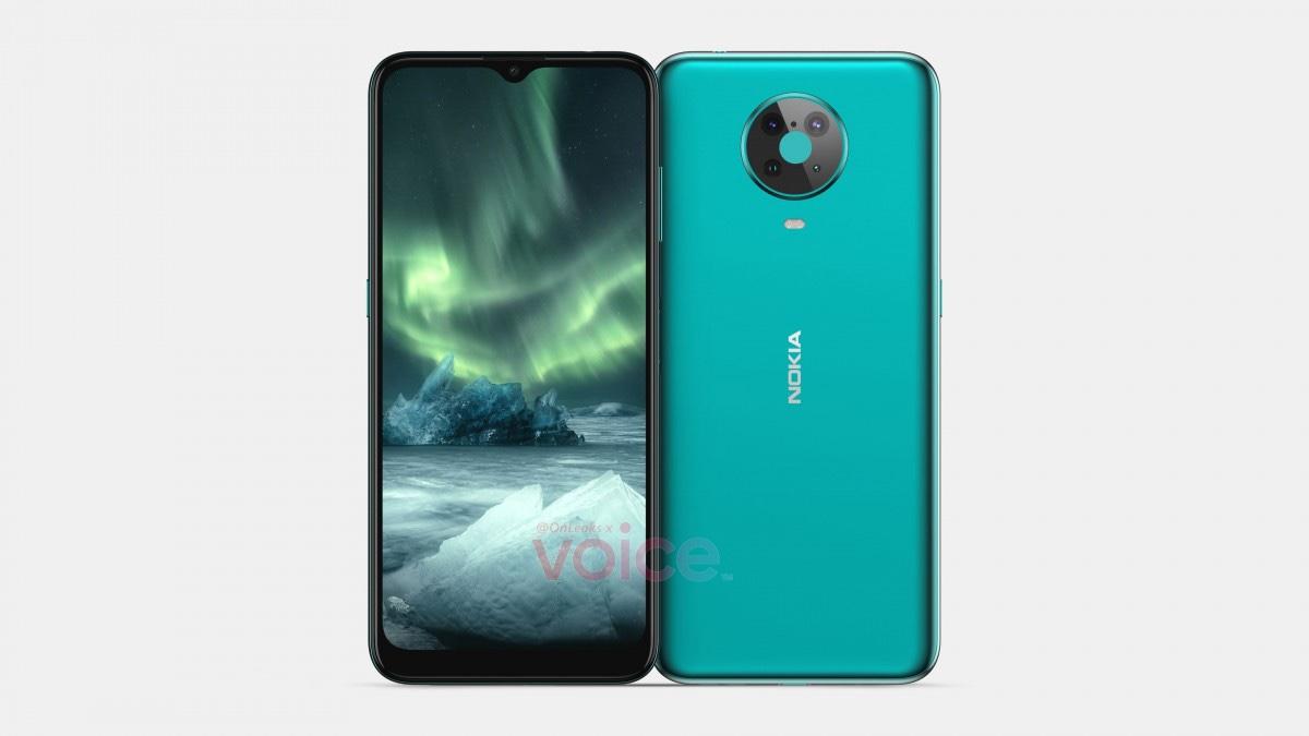 Bild visar hur Nokia 6.4 kommer se ut