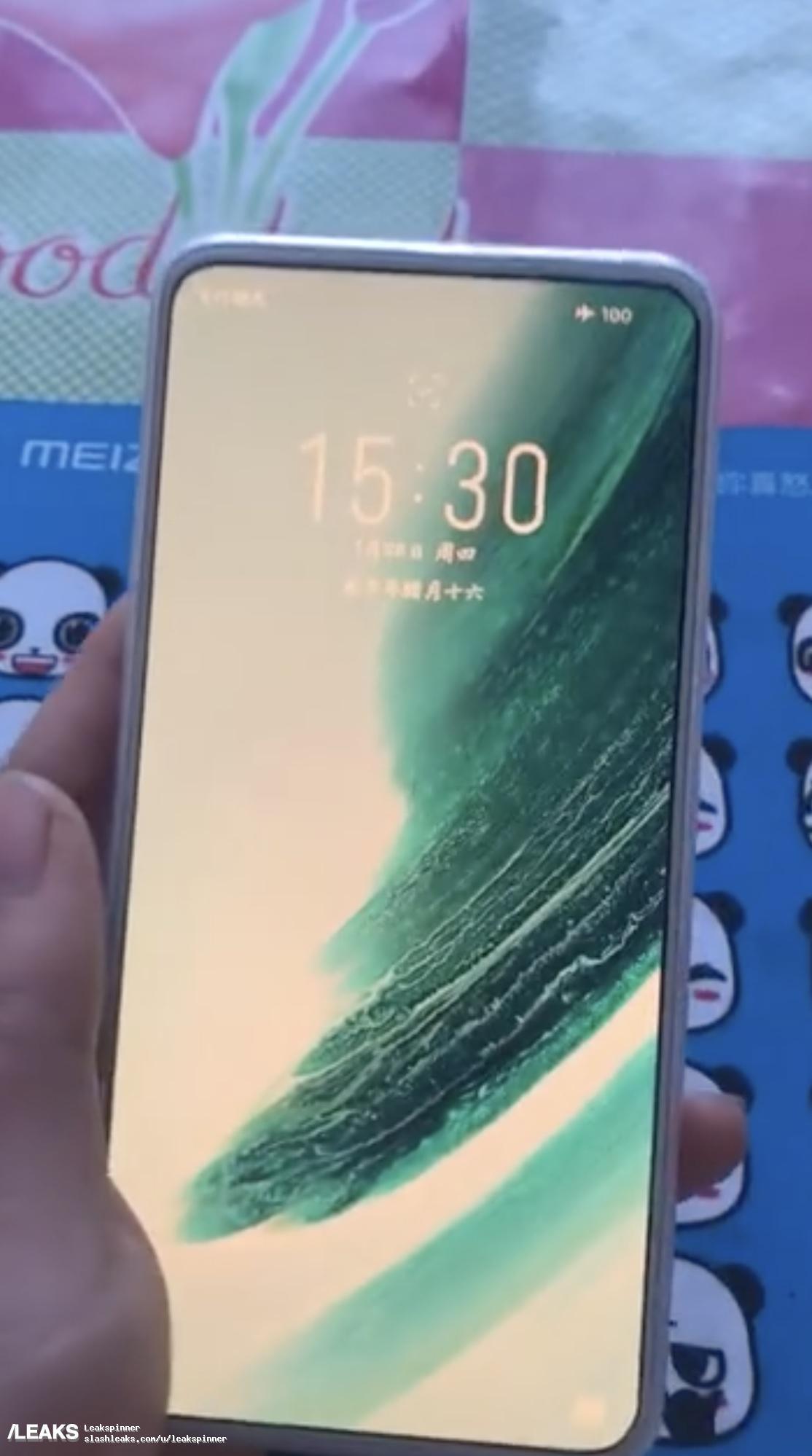 Specifikationer för Meizu 18 läcker