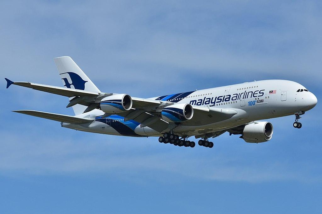 Malaysia Airlines avslöjar att deras Airbus A380-800 kärror går i graven