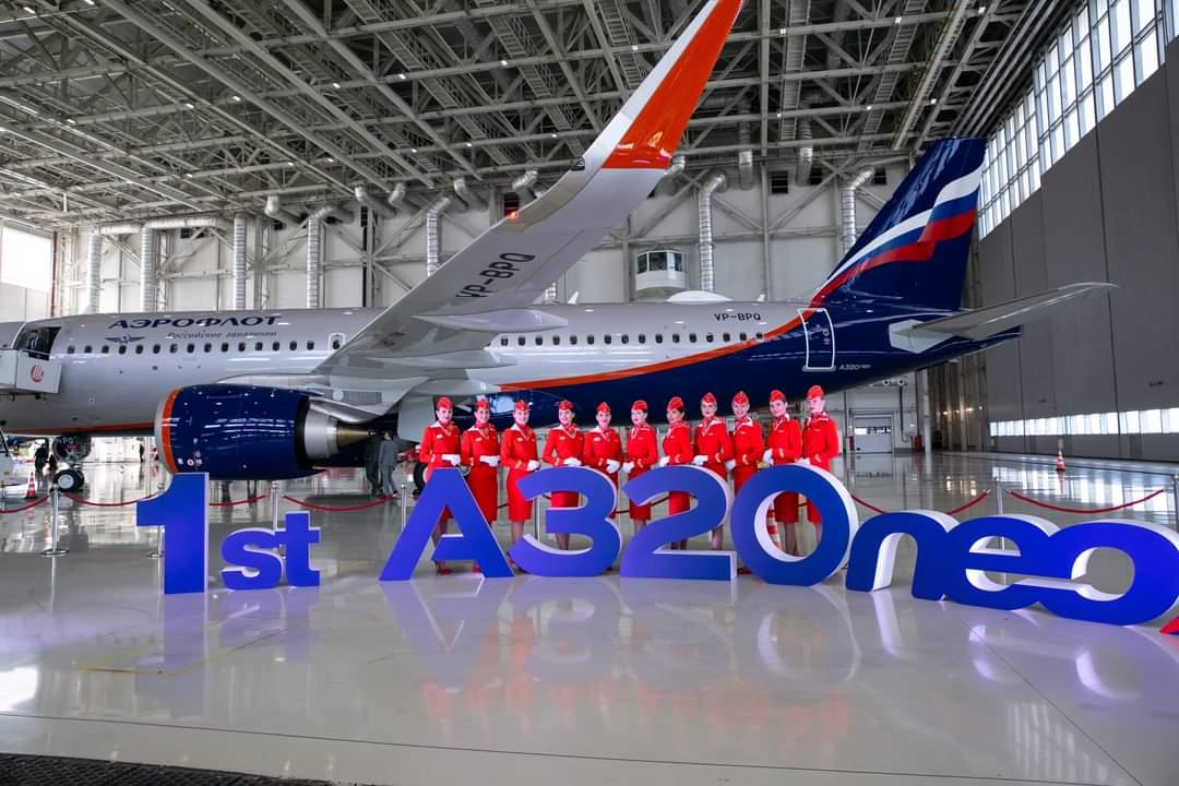 Aeroflot tar emot sin första Airbus A320 Neo