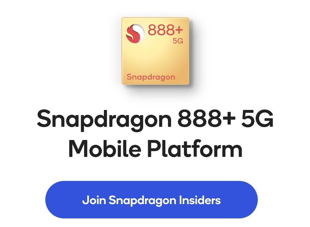 Qualcomm Snapdragon 888+ uppvisad