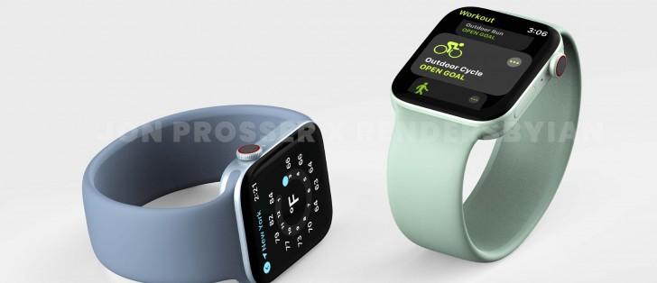 Uppgifter om Apple Watch Series 7