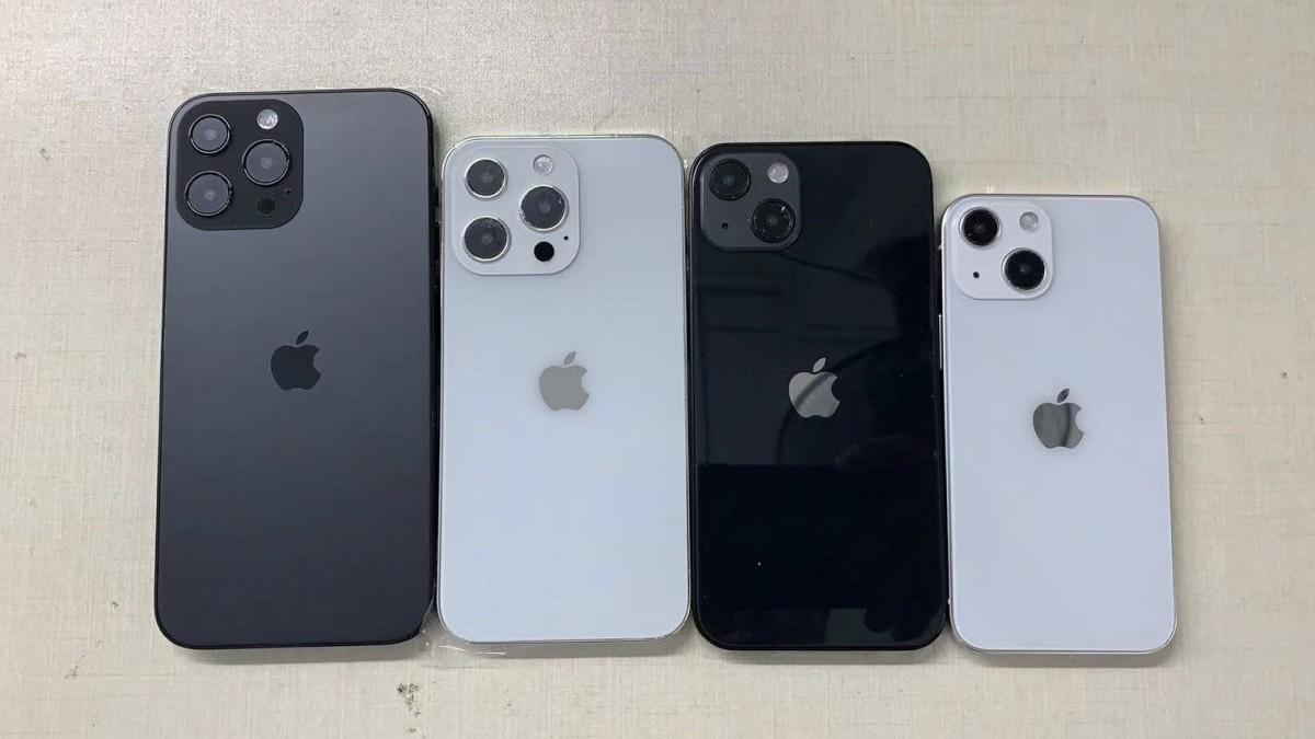 Är det så här de olika iPhone 13- modellerna kommer se ut?