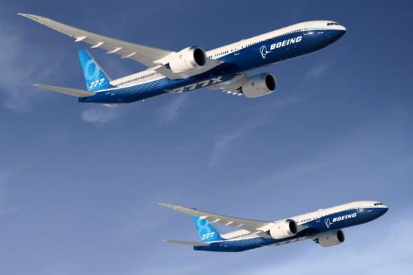 FAA försenar certifiering av Boeing 777X