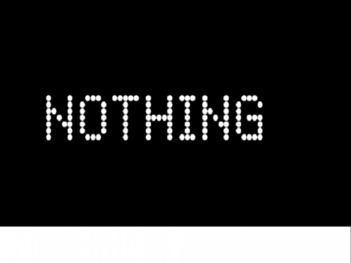 Nothing kommer inte att visa upp något den här månaden