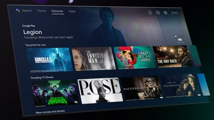Google skickar ut ny uppdatering till Android TV (beta)