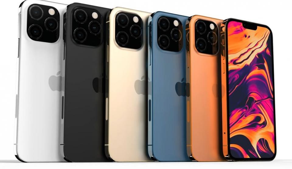 Nya uppgifter om iPhone 13- serien