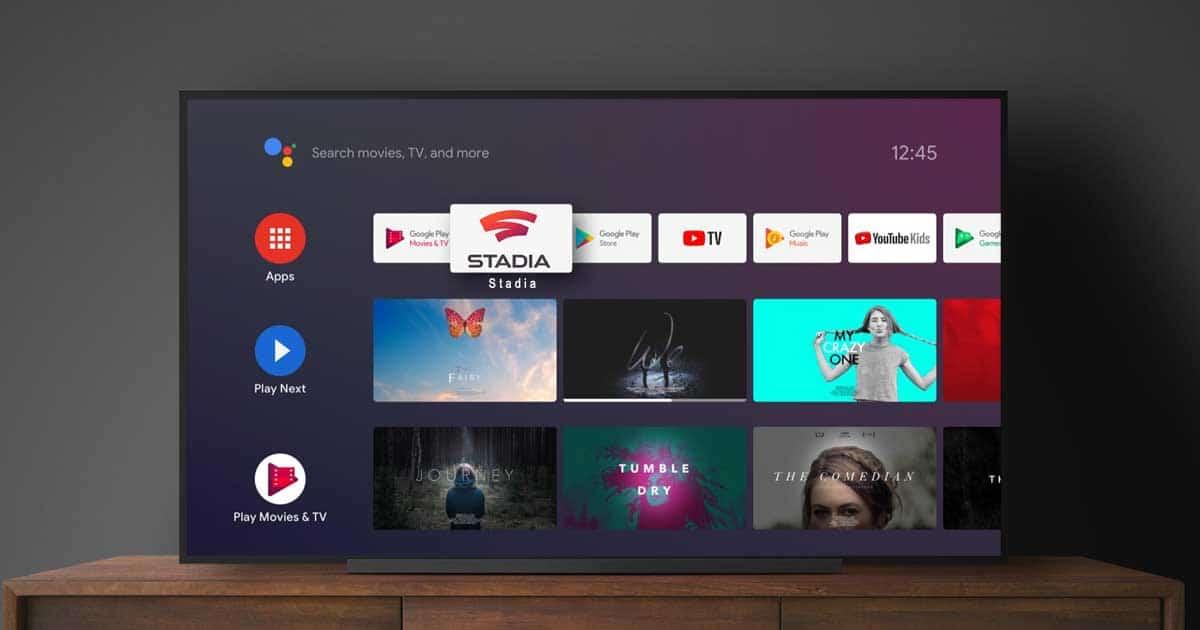 Google Stadia når 50 000 nerladdningar för Android TV