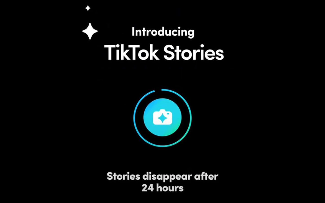 TikTok introducerar Stories