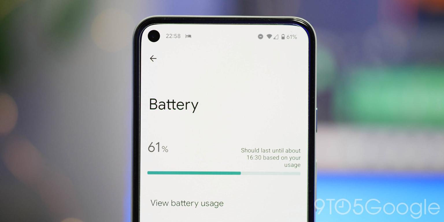 Android 12 Beta 4 erbjuder bättre batterihälsa