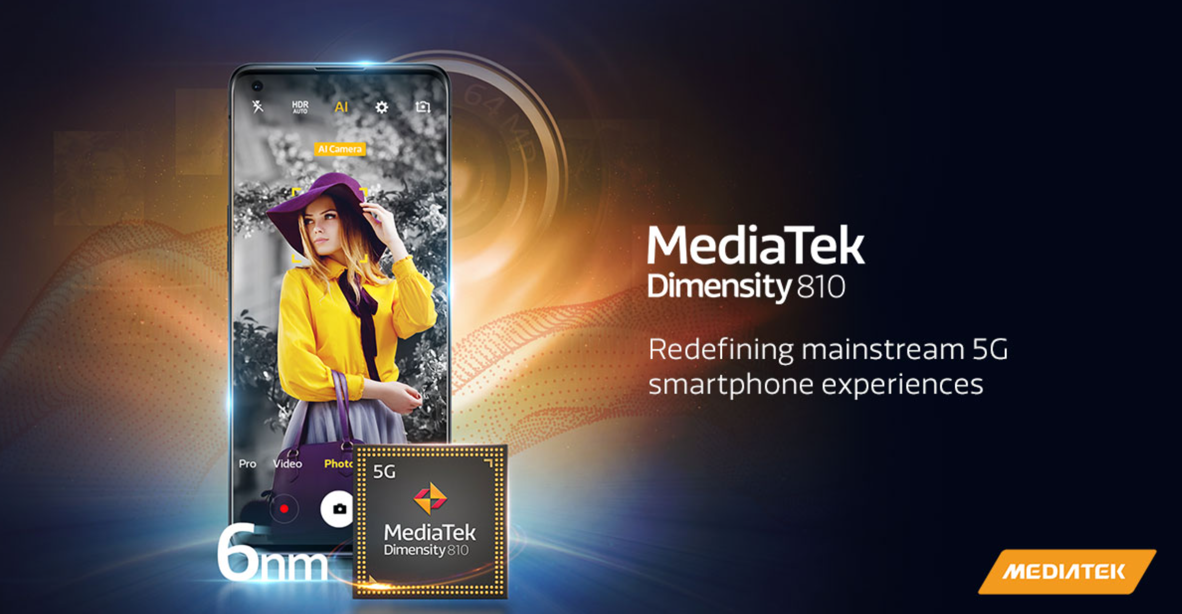Realme blir först ut med en smartphone med MediaTeks Dimensity 810
