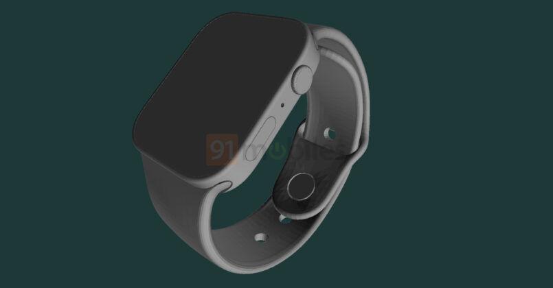 Ny rendering visar sjunde generationens Apple Watch!
