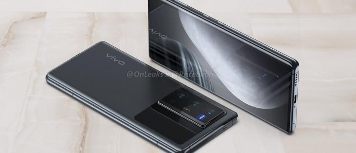 Vivo X70 Pro+ fastnar på bild