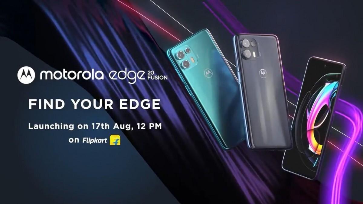 Motorola Edge 20 Fusion läcker