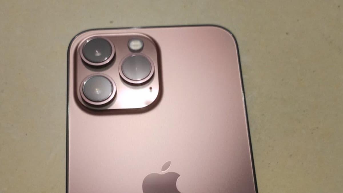 iPhone 13 Pro kan ha dykt upp i Rose Gold