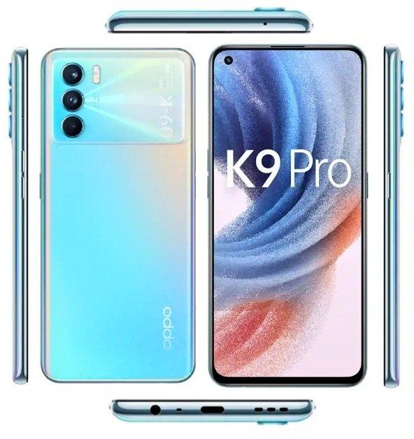 Oppo K9 Pro 5G läcker ut