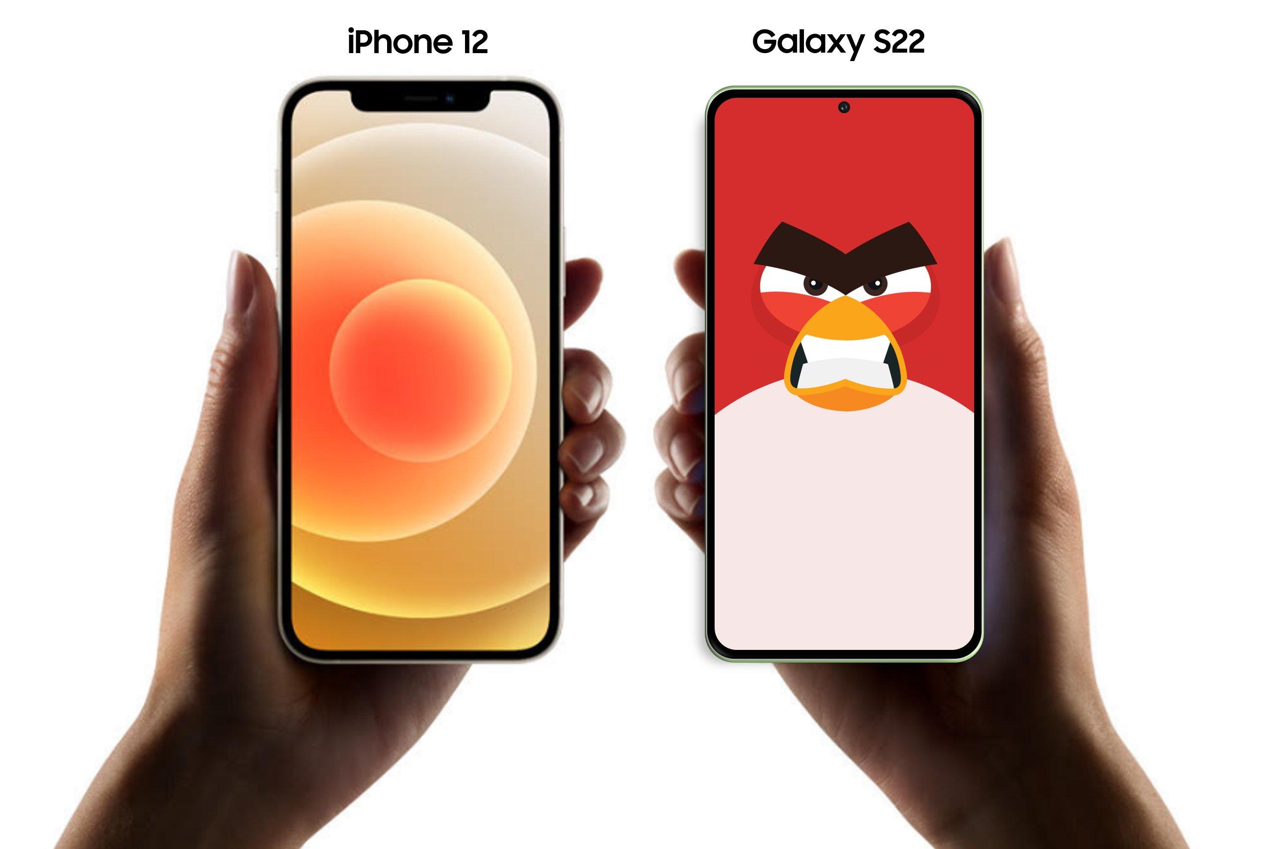 Så stor kan Samsung Galaxy S22 bli mot iPhone 12