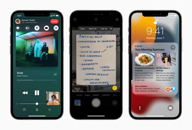Då släpps nya iOS 15