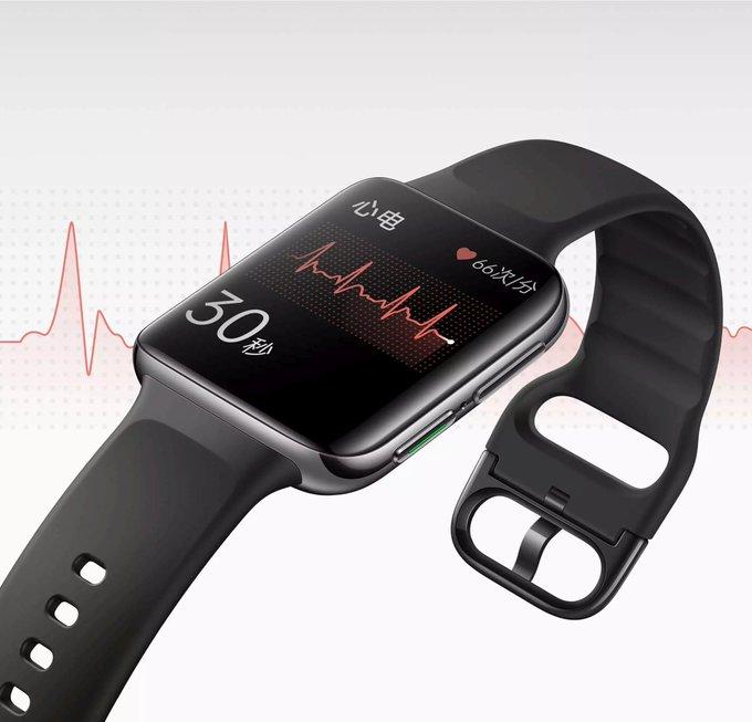 OPPO Watch 2 EKG Edition läcker