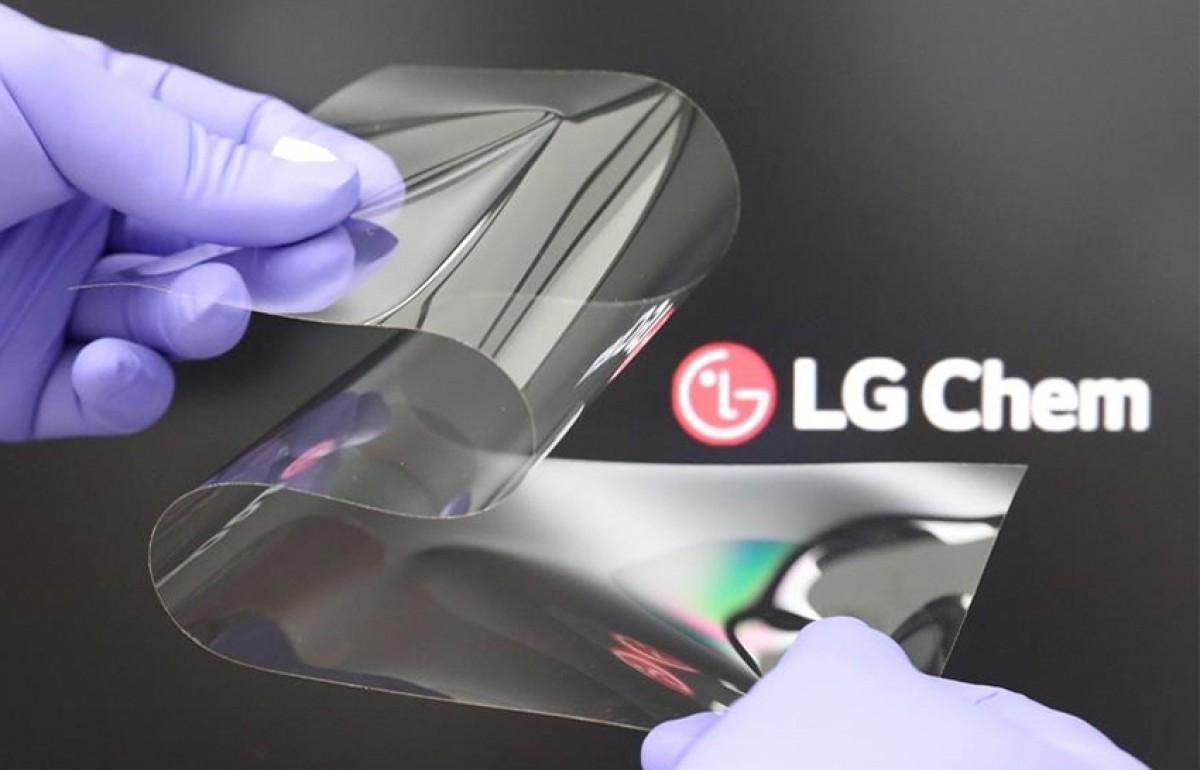 """LG introducerar """"böjbart glas"""" utan någon skarv"""
