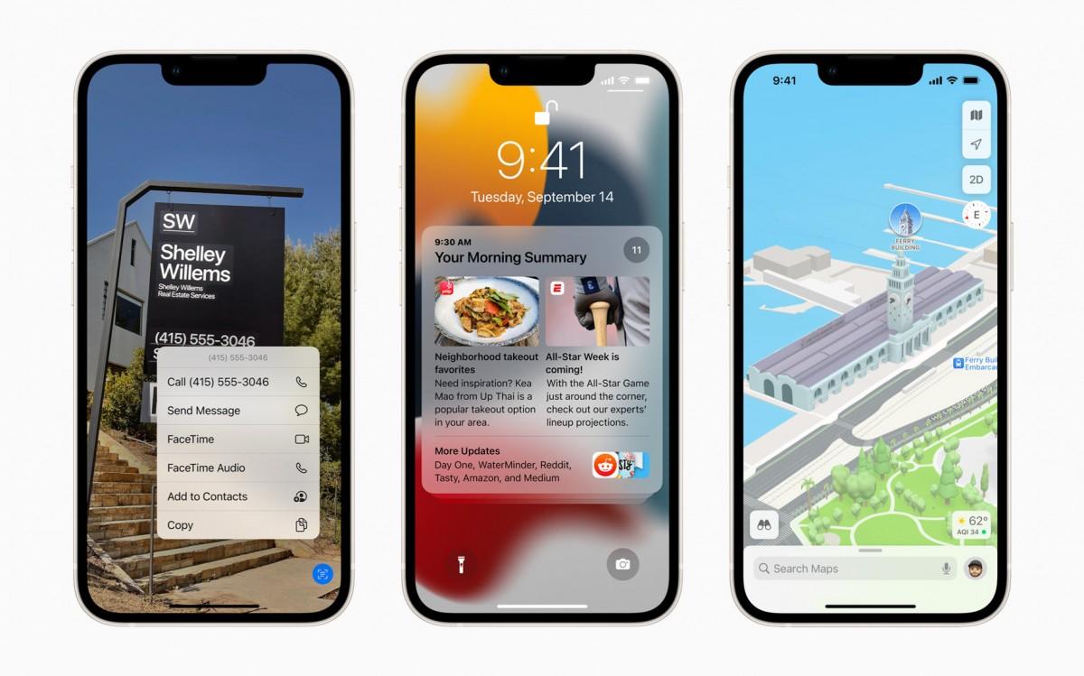 Apple släpper iOS 15.0.2 till iPhones